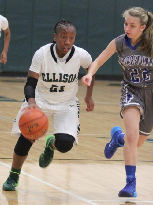 Ellison vs Georgetown Girl's Basketball