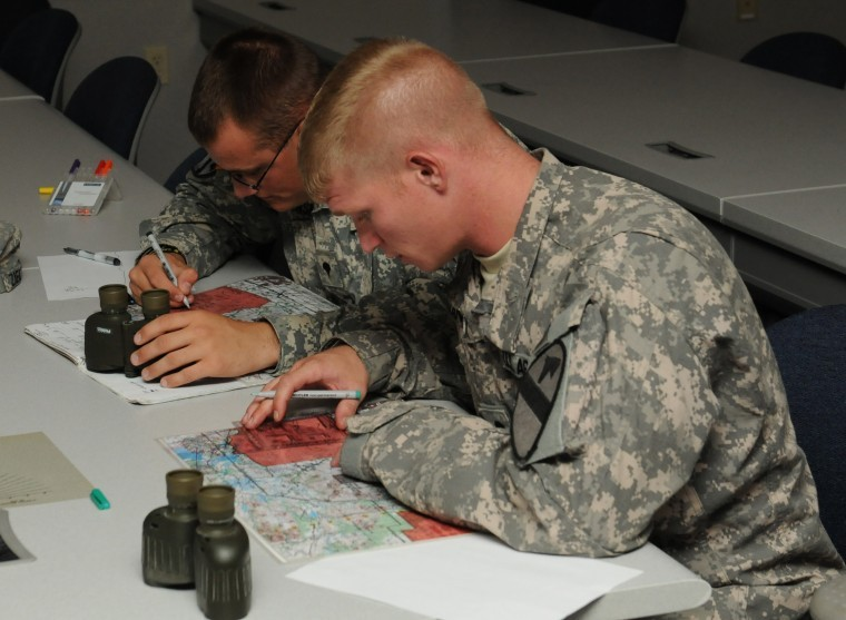 Fire support crews prep for gunnery