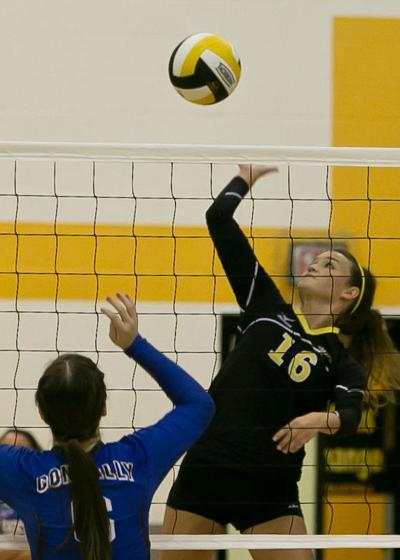 Connally at Gatesville Volleyball