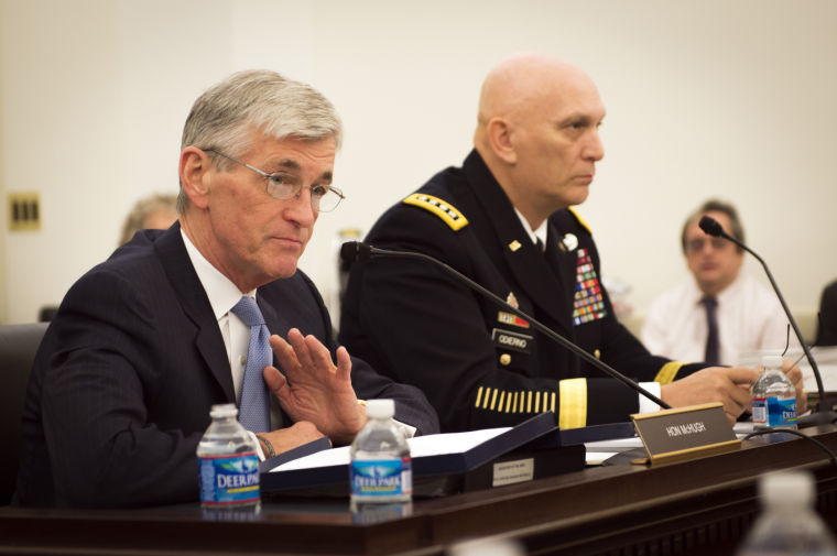 Secretary of the Army John McHugh and Chief of Staff Gen. Ray Odierno