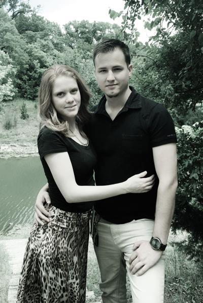 Caroline Rosa and Clayton James Tolliver