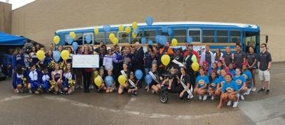 Stuff the Bus event happening at Copperas Cove Walmart