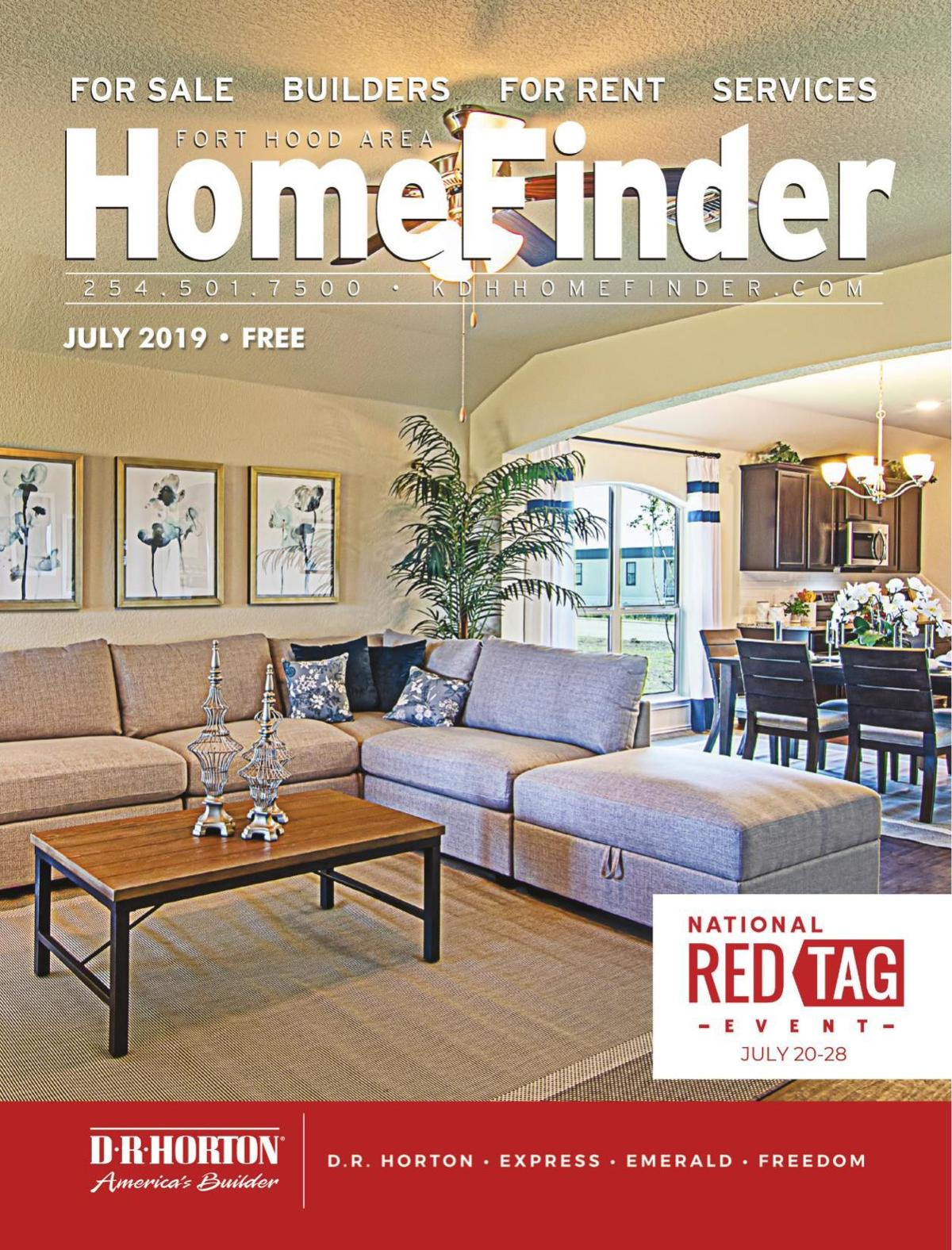 July 2019 Homefinder