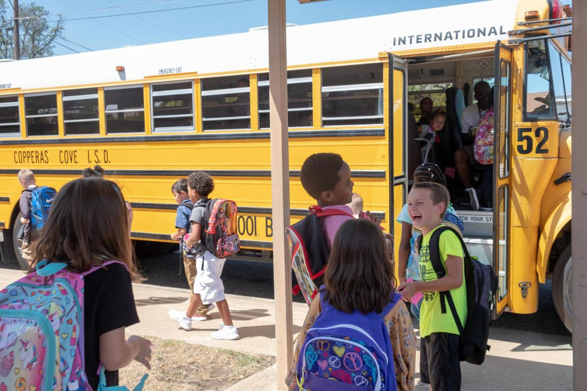 Cove ISD 1st day of school