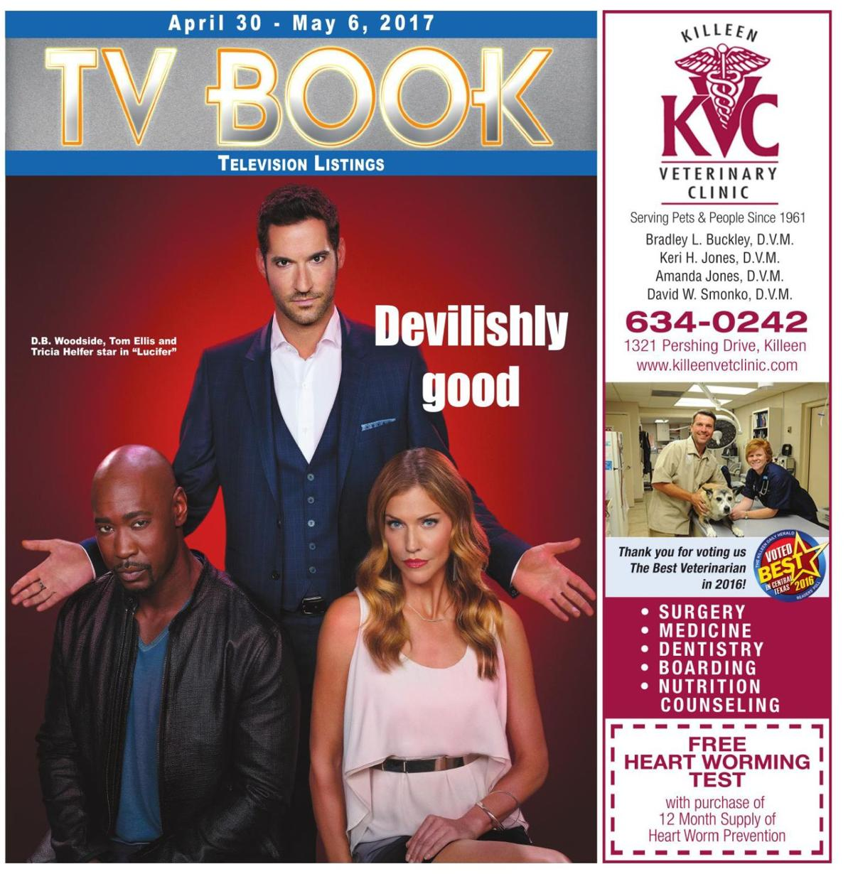 TV Book April 30th - May 6th