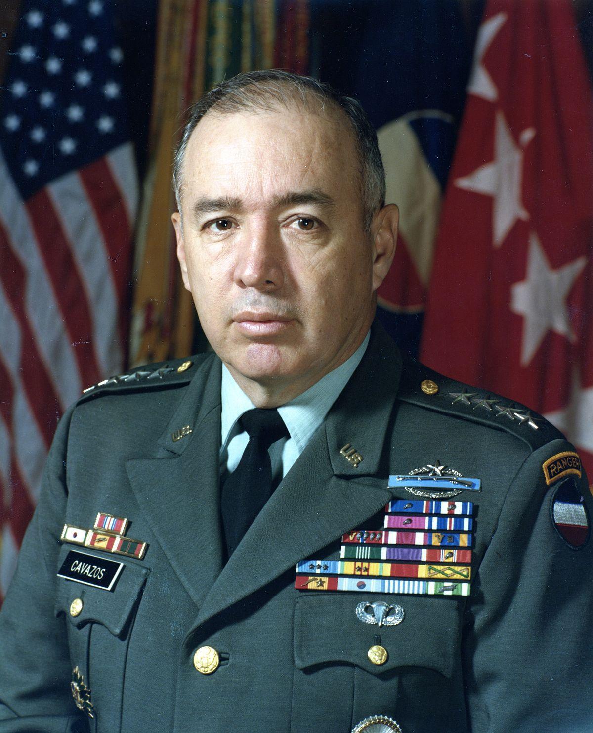 Retired Gen. Richard E. Cavazos
