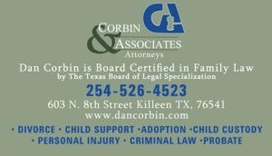 Attorney Killeen Tx 254-526-4523 Corbin and Associates Lawyers