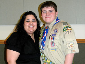 Scout helps Heights win Traffic Safety award