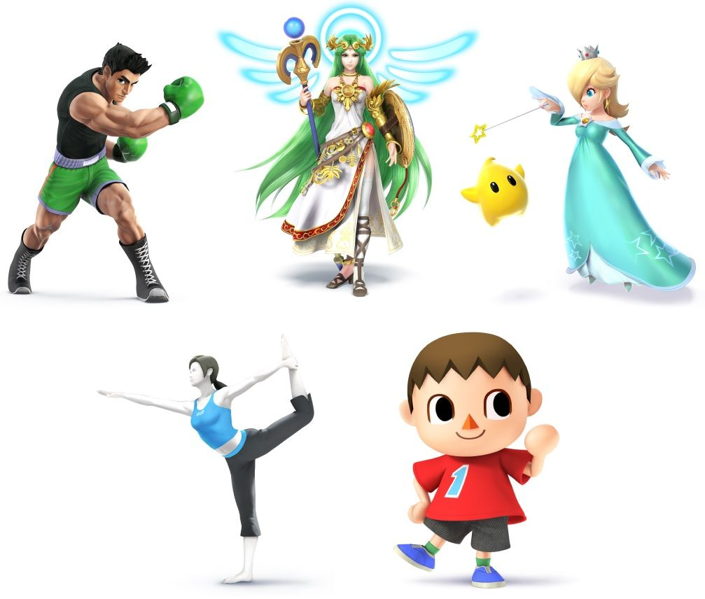 Photo: The Semi-Complete Guide to the Smash Bros 2014 Character Stable: Part 2