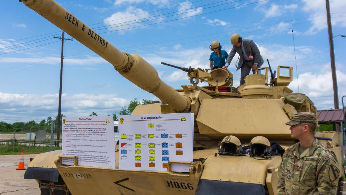OTC hosts local leaders and academicians for close up look of modern Army testing