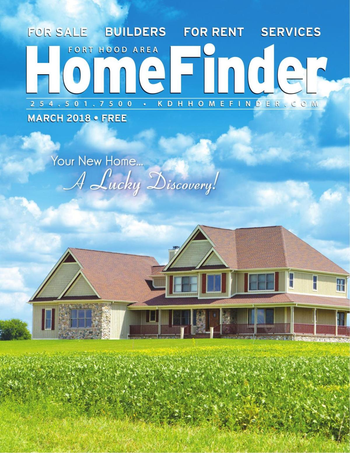 March 2018 HomeFinder