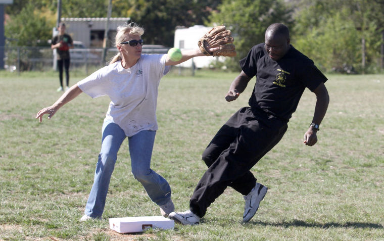 Guns and Hoses softball game