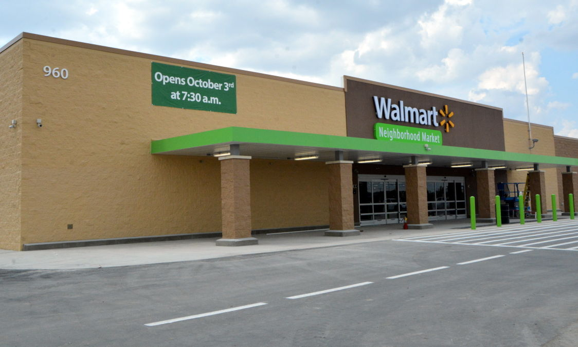 employees at new wal mart in harker heights getting ready for oct 1 opening