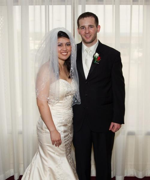 Zambrano - Gries wedding
