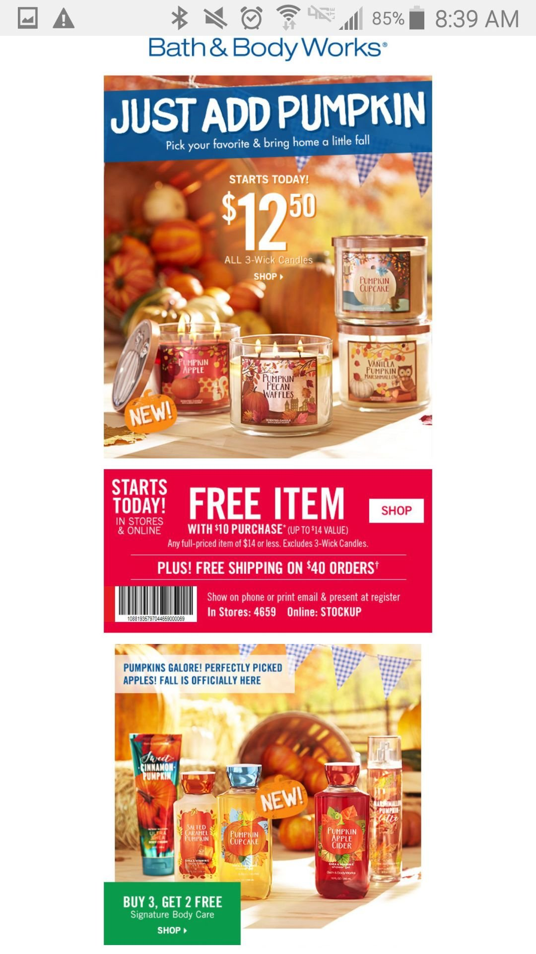 bath body works 12 50 candles free gift and 10 gift card rh kdhnews com