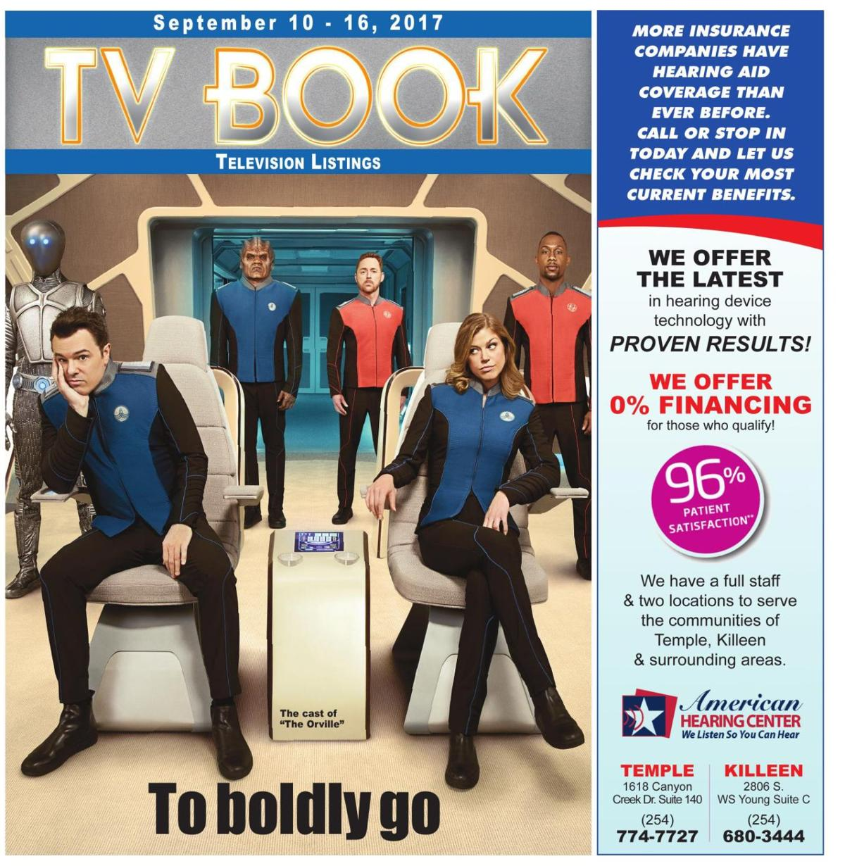TV Book September 10th - 16th