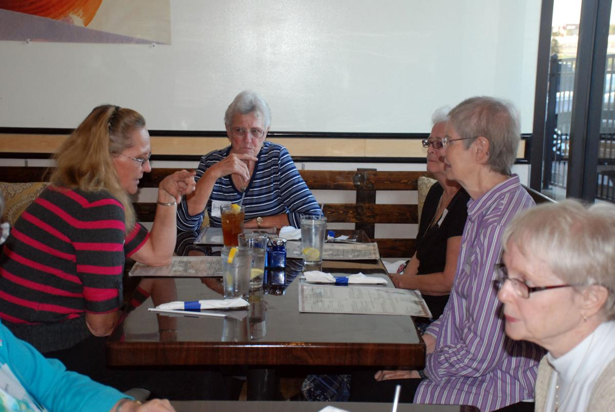 Heights ladies group enjoys monthly excursions to for Acropolis greek cuisine harker heights