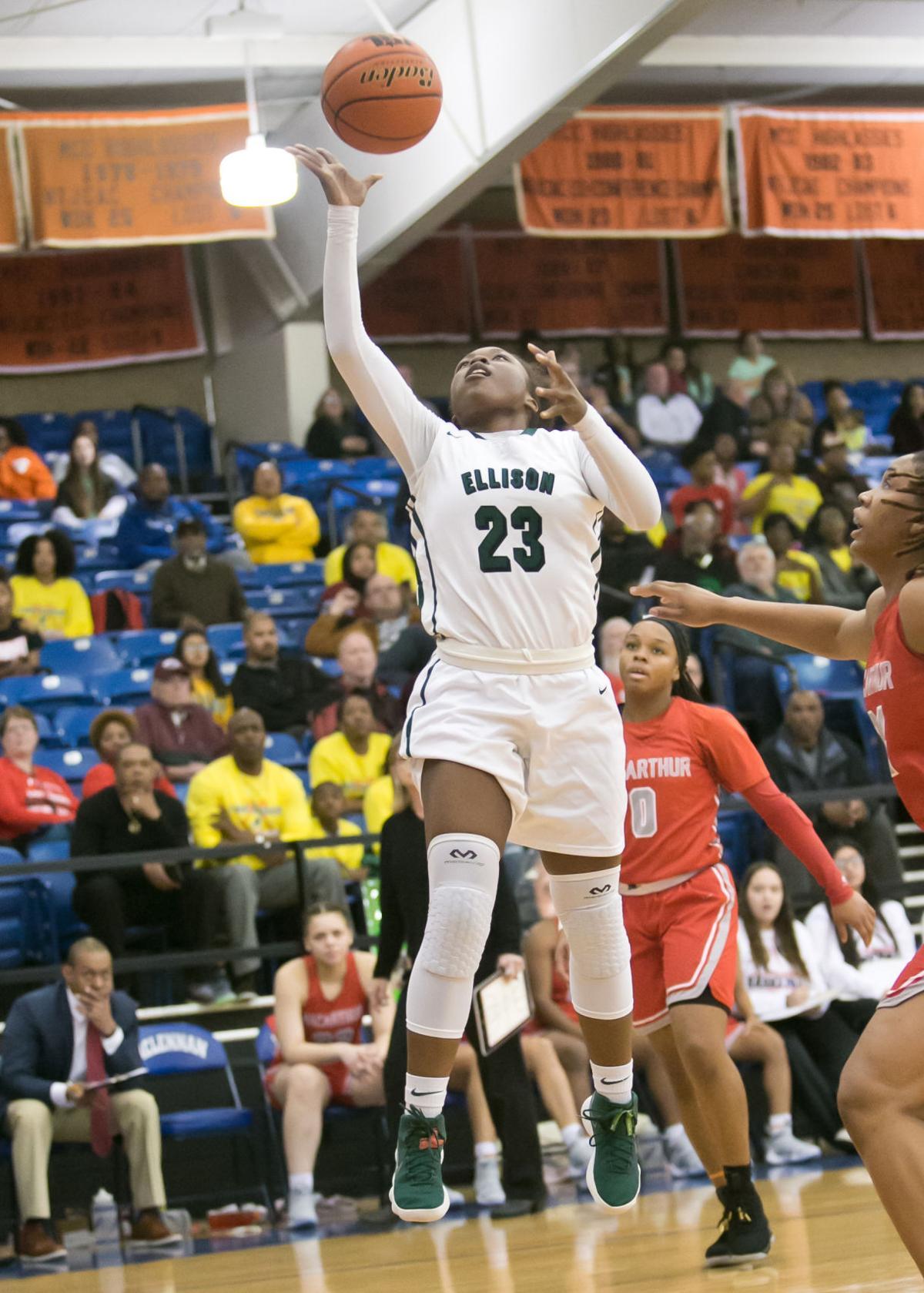 Ellison vs. Irving MacArthur Bi-District Playoffs Girls Basketball