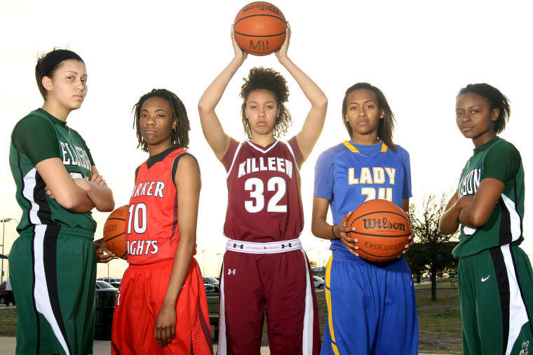 All-Area Girls Basketball