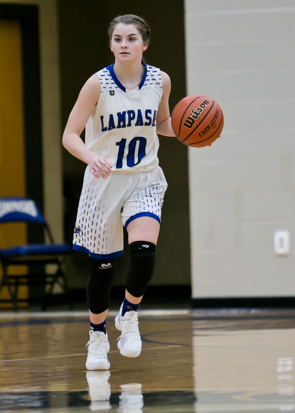 Jarrell at Lampasas girls Basketball
