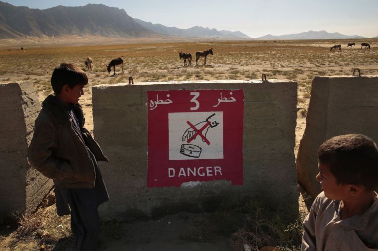 LIVING AROUND DANGEROUS ORDNANCE IN AFGHANISTAN