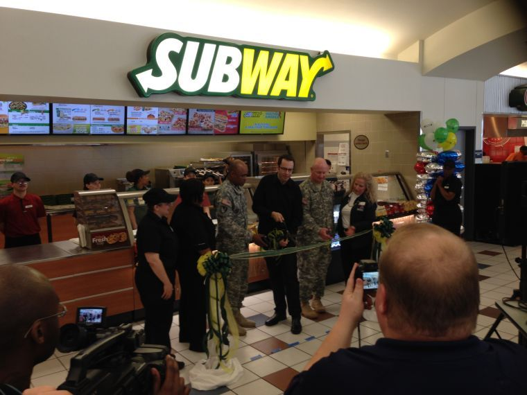 Subway opens at Fort Hood