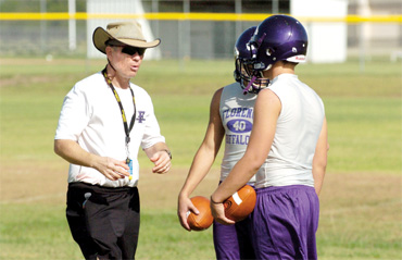 Bare Essentials: Buffaloes busy learning new system