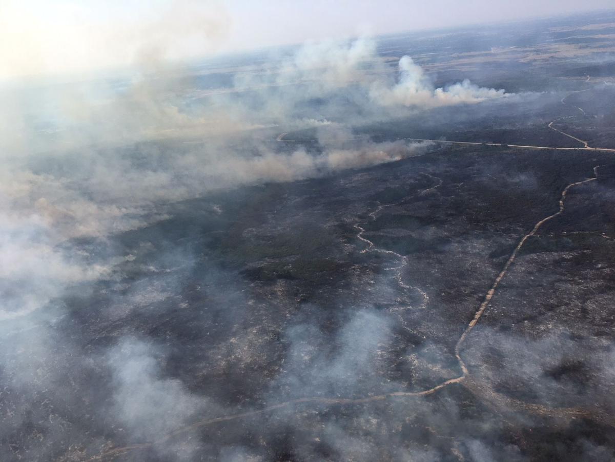 Fort Hood fires