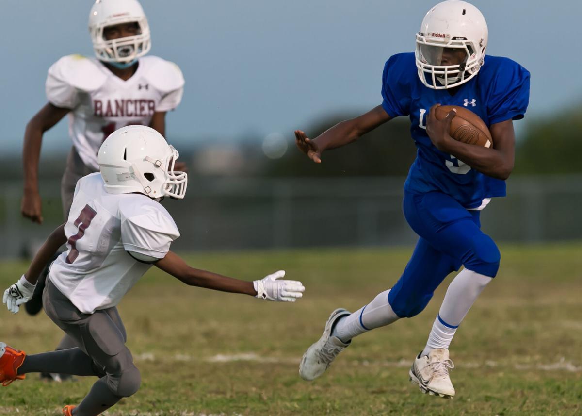 Rancier at Liberty Hill Middle School Football