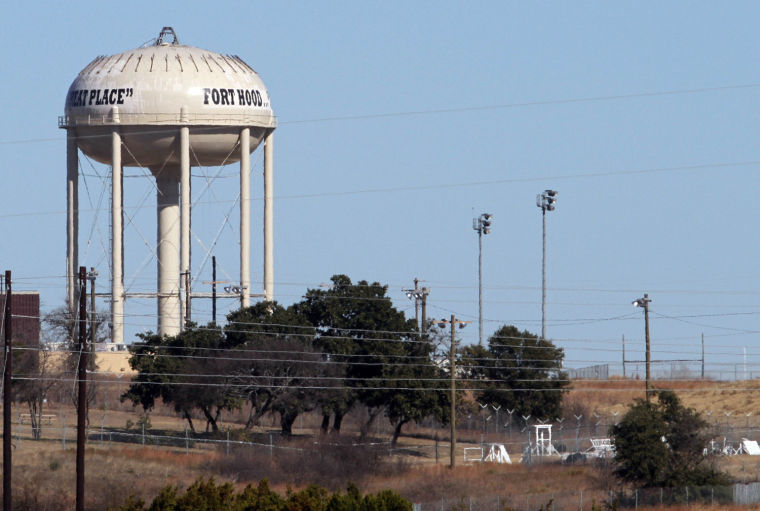 Fort Hood water tower