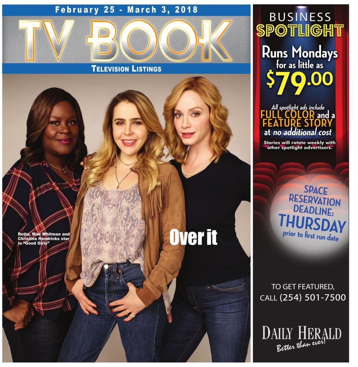 TV Book ~ Feb 25th - Mar 3rd