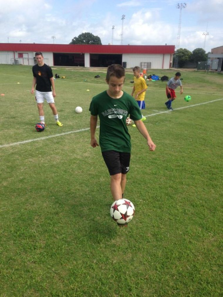 Belton youth soccer camp