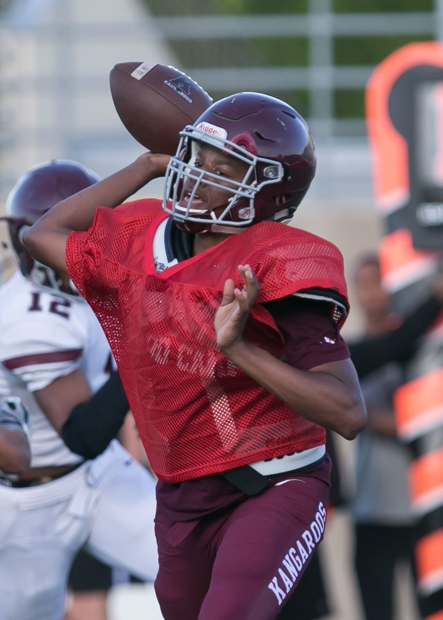 Killeen Maroon and White Spring Football Game-6