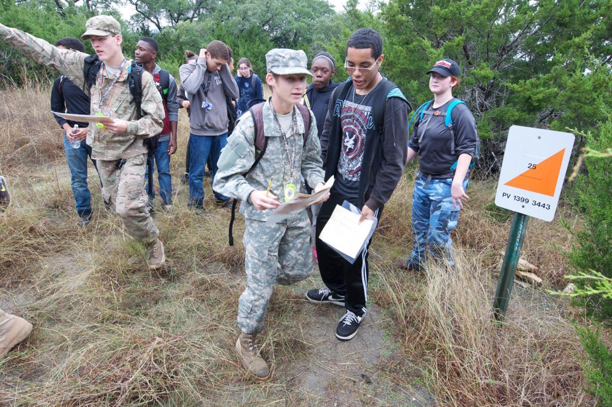 Shoemaker High Junior Rotc Cadets Test Land Navigation