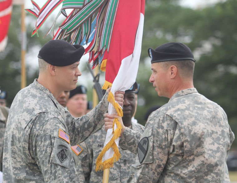 36th Engineer Brigade change of command
