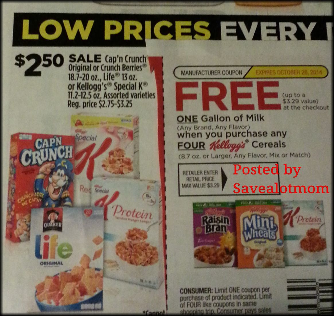 Dollar General 2 Off Digital Coupon Free Milk Offer Save A Lot Mom Kdhnews Com