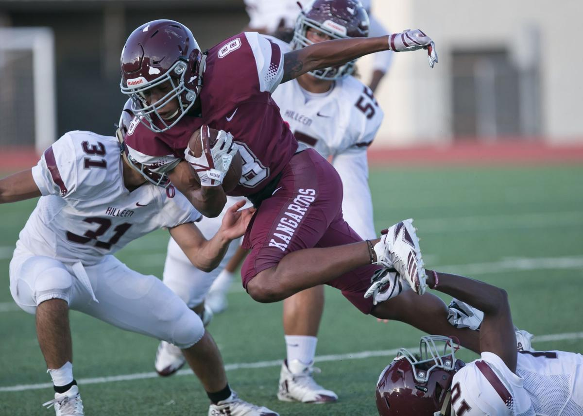 Killeen Maroon and White Spring Football Game-7
