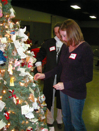 Ornaments honor victims of crime