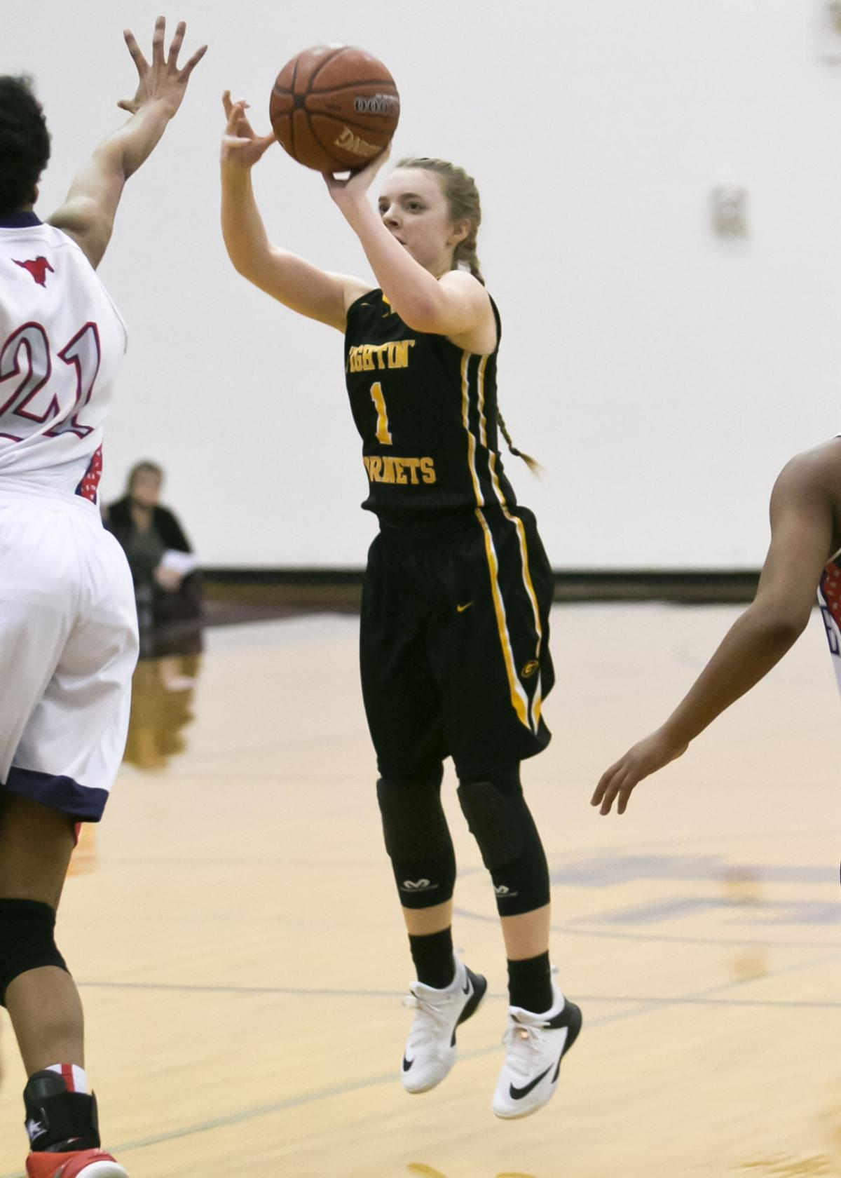 Gatesville vs. Madisonville Girls Basketball Playoffs