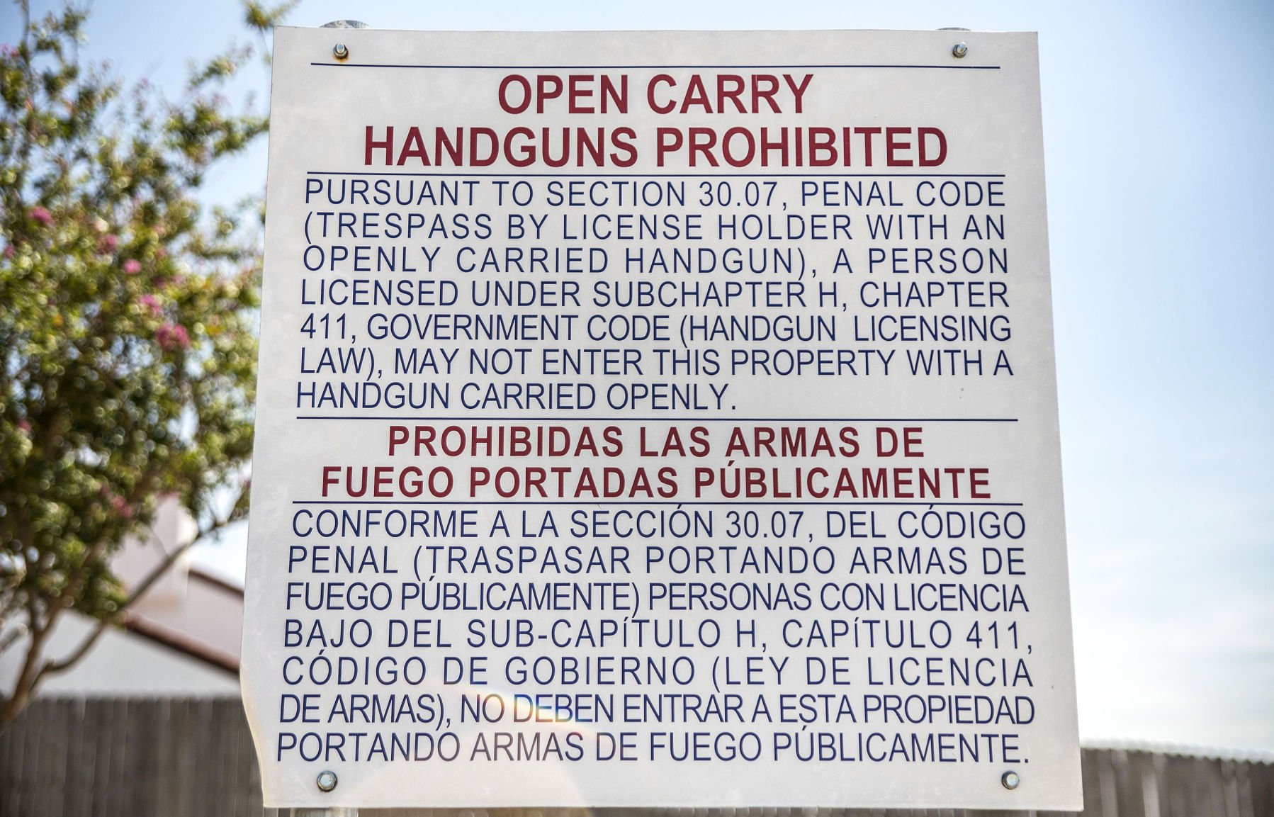 Campus Carry law takes effect August 1 at Lone Star College