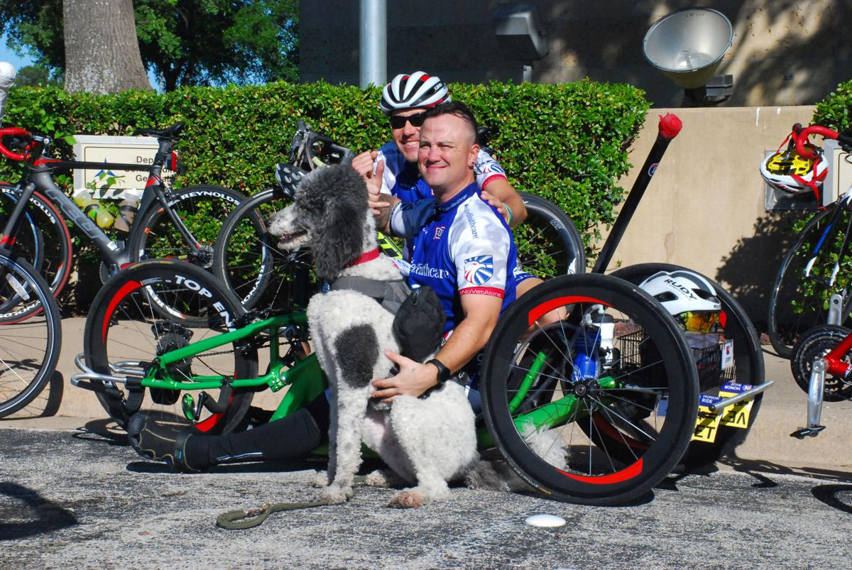 Wounded Veterans Ride to Recovery