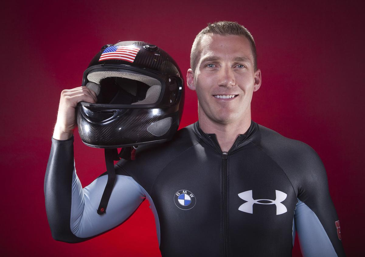 Olympic bobsledder