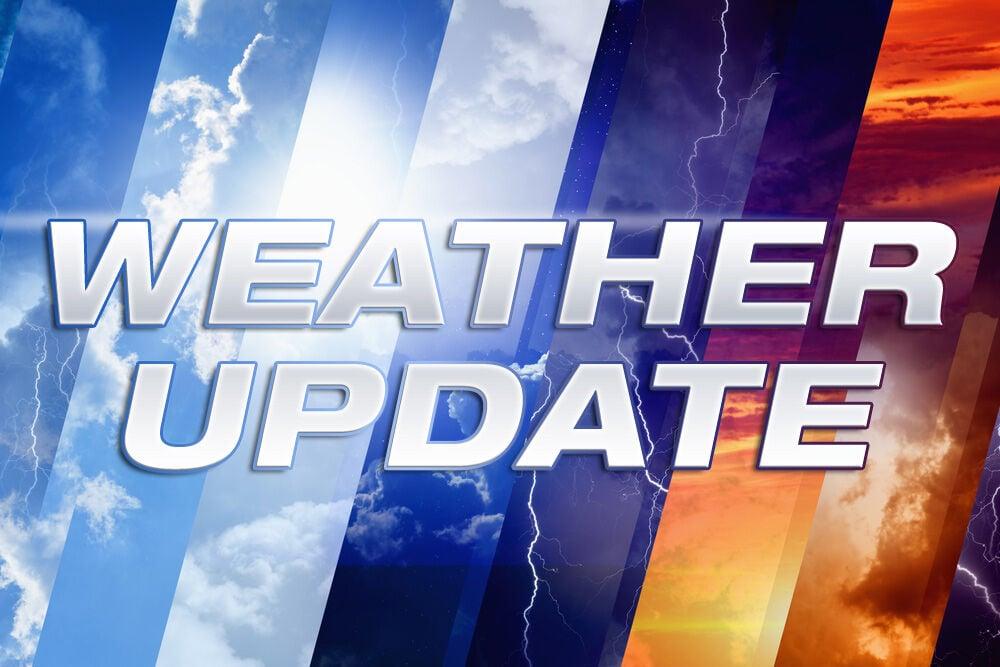Weather service: Rain set to end late tonight