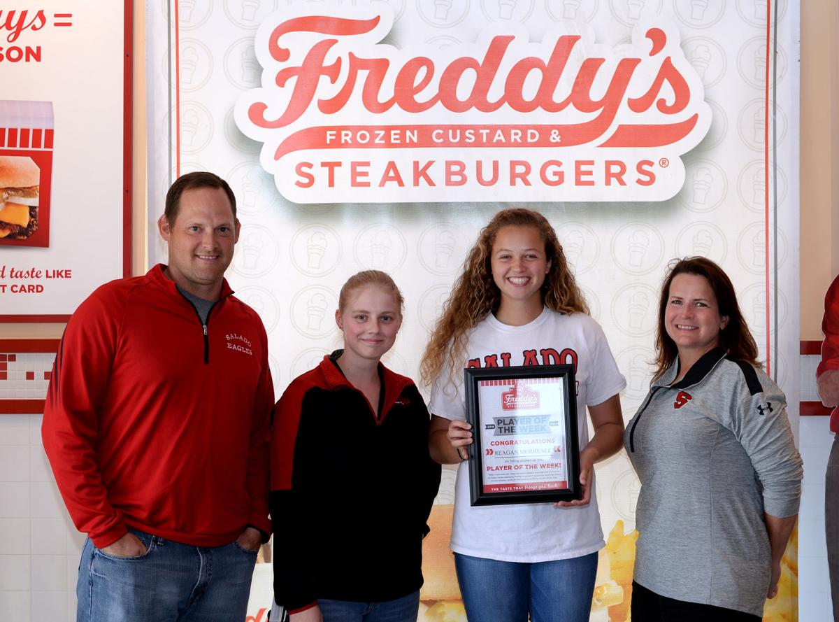 Freddy's-KDHpressbox.com Player of the Week Reagan Morreale