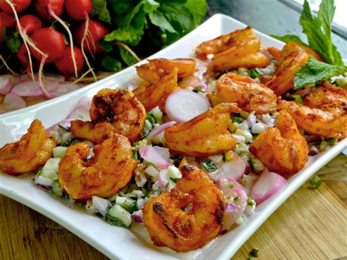 FOOD RADISH-SHRIMP-SALAD PG