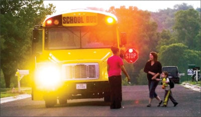 School bus route eliminated on Avenue B