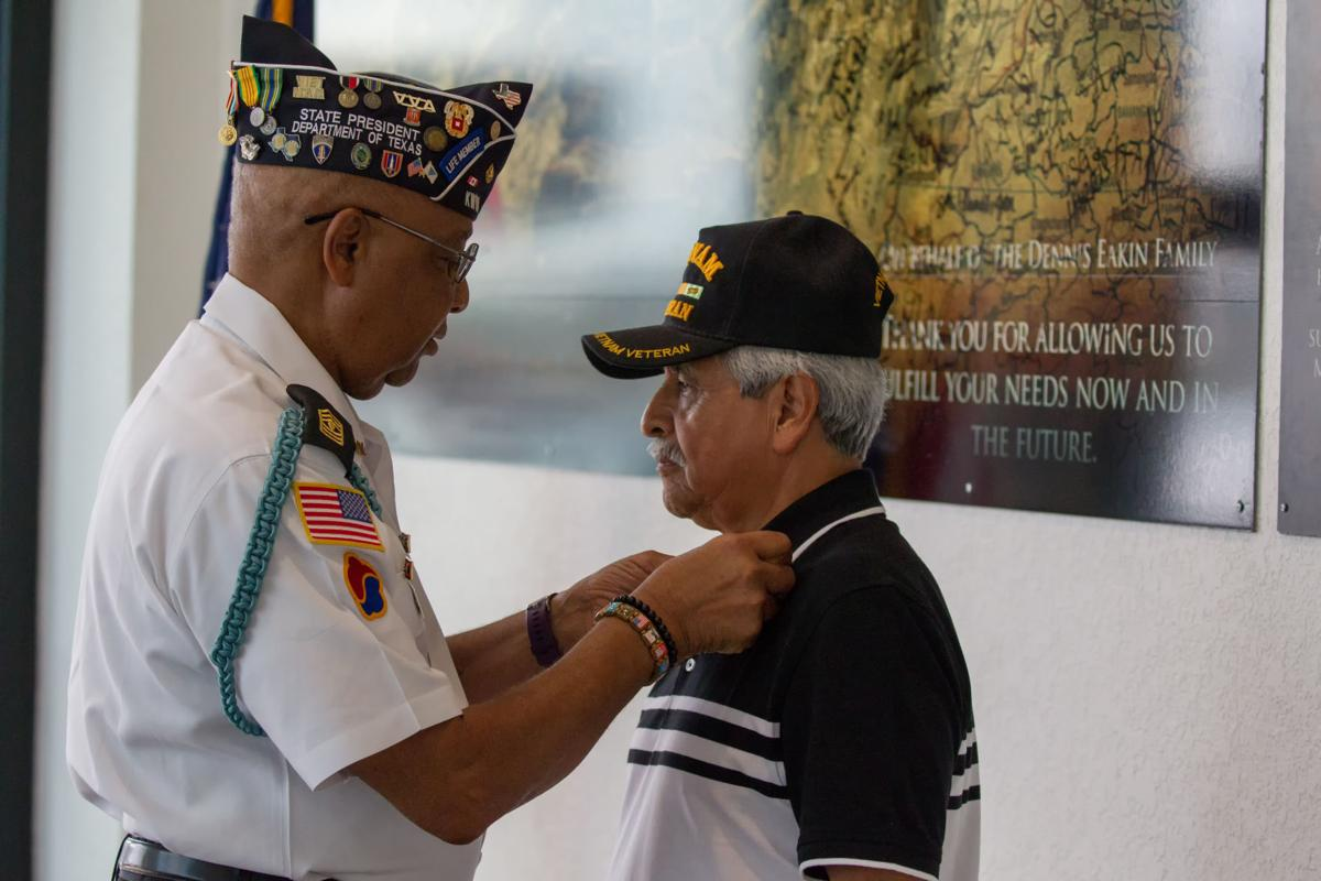 Vietnam Veteran ceremony at Kia