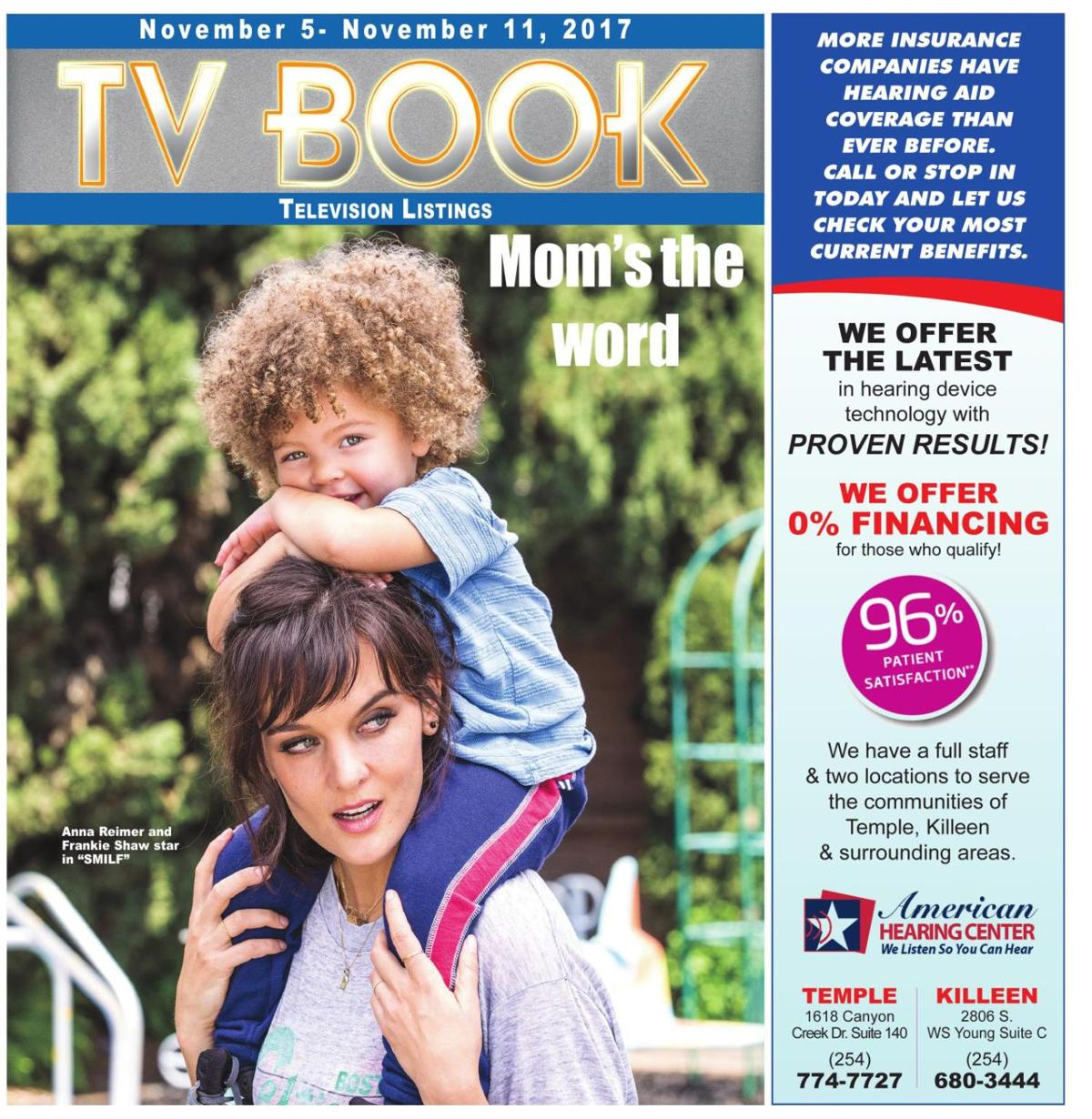 TV Book November 5th - 11th