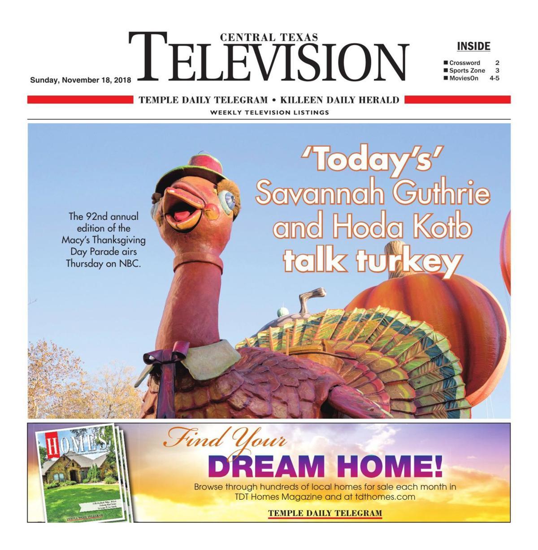 TV Book Nov. 18th - 24th