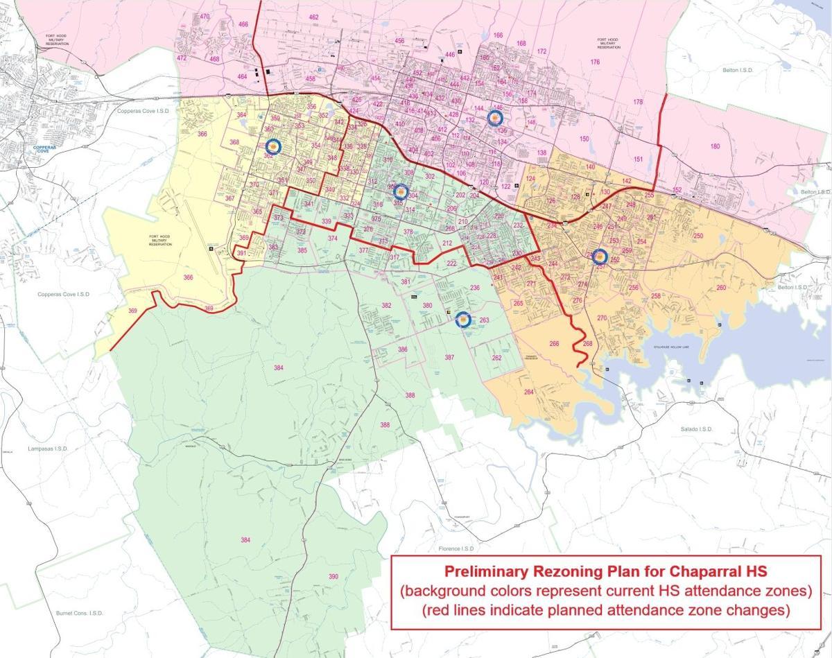 KISD rezoning map